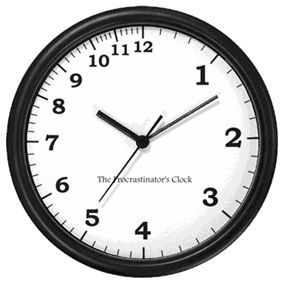 Procrastination is the thief of time – Dictionary definition of